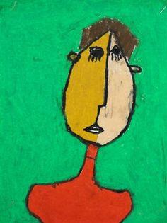 Picasso-Style Self Portraits - Artsonia Lesson Plan
