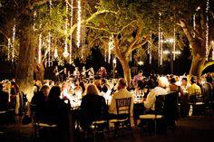 #lighting, #sparklers  Floral Design: Krist Jon - kristajon.com Photography: Next Exit Photography - nextexitphotography.com Event Planning + Design: Kristeen LaBrot Events - kristeenlabrotevents.com  Read More: http://www.stylemepretty.com/2013/08/23/saddlerock-ranch-wedding-from-kristeen-labrot-events/