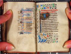 A page of the Calendar and the Gospel of John