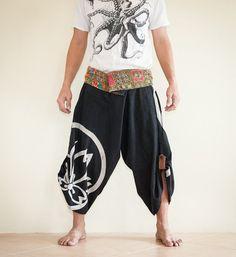 Unique Samurai Harem Wrap Around Unisex by AmazingThaiStore, $35.00