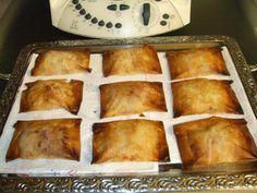 As minhas aventuras com a Bimby: Travesseiros de frango