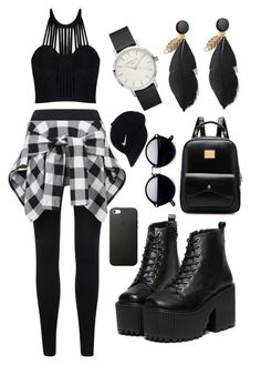 """""""Concert time🎤🎪"""" by kennedi1122 ❤ liked on Polyvore featuring Posh Girl and NIKE"""