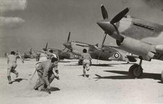 Description    Libya 1942: the Curtiss Tomahawks of the No 3 Squadron Royal Air Force scrambling. Victor Sierra    Recent comments        ThunderboltFan (Wed 03 Oct 2012 01:48:37 AM EDT)        These aircraft and crews are from 3 Squadron Royal Australian Air Force not RAF. 3 Squadron RAF operated in the UK and Europe.
