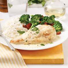 Poulet ranch à la mijoteuse - Soupers de semaine - Recettes 5-15 - Recettes express 5/15 - Pratico Pratiques Slow Cooker Recipes, Crockpot Recipes, Chicken Recipes, Healthy Recipes, Coco, Mashed Potatoes, Food And Drink, Yummy Food, Lunch