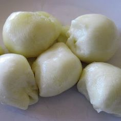 homemade mozzarella...I want to try this!