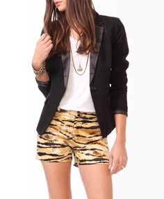 Satin Lapel & Trim Blazer | $29.80. Ship it by www.canubring.com