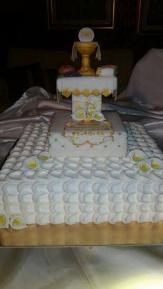 """Torta di panna per Comunione """"le torte di Maví """""""