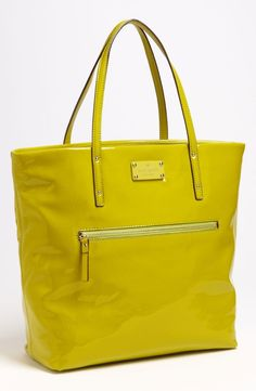 kate spade new york patent leather bon shopper by nordstrom