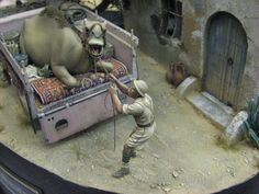 Roy Schurgers Military Diorama, Nightmare On Elm Street, Scale Models, Vignettes, Lion Sculpture, Rc Vehicles, Geek Stuff, Statue, Pictures
