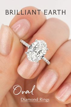 Looking for the perfect ring? Explore our collection of engagement rings, ranging from classic to unique styles, set with Beyond Conflict Free Diamonds™. Oval Engagement, Beautiful Engagement Rings, Wedding Engagement, Wedding Ring Designs, Wedding Ring Bands, Do It Yourself Wedding, Dream Ring, Cute Jewelry, Just In Case