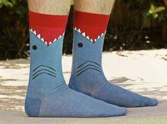 K Bell Mens Shark Sock – Socks by My Foot Fetish
