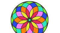 #TDAH Trabajamos la atención coloreando mandalas Mandala Art, Mandalas Drawing, Mandala Coloring Pages, Mandala Design, Doodle Designs, Stained Glass Patterns, Geometric Art, Sacred Geometry, Painted Rocks