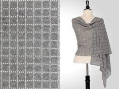 Steve Rousseau Designs • Alaric Rectangular Shawl • Crochet Pattern • Isager Alpaca 1 3s
