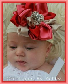 Aniston Vintage Headband  by: Creations by Ashby