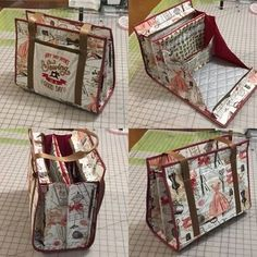 Ultimate carry all bag for sewing, quilting and any kind of crafts - Sewing Patterns at Makerist