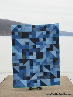Tips for Quilting With Denim Jeans - Create with Claudia