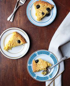 Clafoutis aux Olives Noires Confites (Candied Black Olive Cake) | SAVEUR