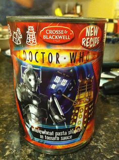 Doctor Who Spaghettios! Awesomesauce... literally.