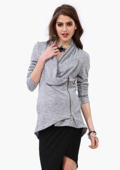 Kaylee Zip Up Sweater