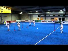 Atletico Madrid: Diego Simeone Pass Drill and Soccer Awareness - YouTube