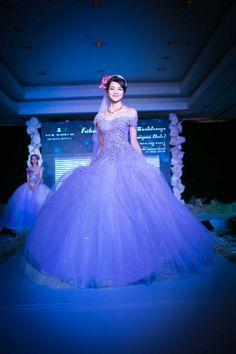 Siêu mẫu Kiều Ngân - Bộ sưu tập váy cưới của NTK Anh Thư