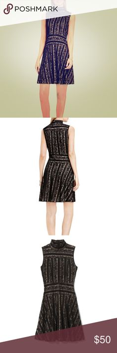 Vince Camino black lace fit and flare dress Fabulous versatile designer dress! Goes with everything and very comfortable and flattering. Don't miss out on this steal!  https://www.vincecamuto.com/vince-camuto-lace-fit-%26-flare-dress/039372721565.html?country=US&currency=USD&gclid=CjwKCAiAweXTBRAhEiwAmb3Xu6YiiqBX-oJDlLRZ-zRXpKIga4CnwyyXtEcSklnHDq25P-gwS62WQxoCEAsQAvD_BwE Vince Camuto Dresses Strapless
