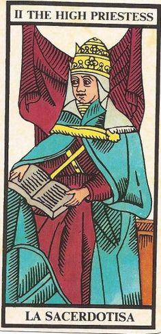 Arcano Maior II - A Papisa Carta Tarot para 25 e 26-10-2014 Hoje o dia deve servir para o fazer pensar e interiorizar alguns acontecimentos da sua v