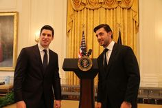 Sidney Crosby and Kris Letang get ready to meet President Obama at the White House.