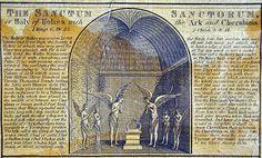 Detail of Schott's model of Solomon's temple, circa 1723-1729. Image ...