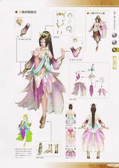Dynasty Warriors 8 Artbook: DiaoChan - Album on Imgur