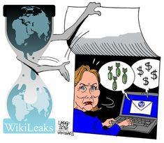 CNA: WikiLeaks filtra más de 19.000 emails de los jefes de campaña de Hillary Clinton