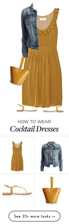 """mustard+denim"" by bodangela on Polyvore"