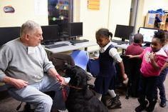 Crossroads Pets- Shop & Adopt visiting our kids at our Andrew Jackson Club to teach them about pet safety!