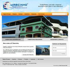 PHP nativo - ST Marcinho - Desenvolvimento front-end e back-end, criação de CMS, PHP/MySQL.