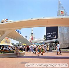 GORILLAS DON'T BLOG: Awesome Instamatic - Tomorrowland