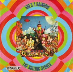 The Rolling Stones -She's A Rainbow (record cover) 1967