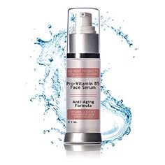 Vitamin B5 Face Serum for Ageless Looking Skin Activates Collagen Production giving Skin Texture  Elasticity Best Anti wrinkle Moisturizer to Reduce Fine Lines  Wrinkles ** Learn more by visiting the image link. (Note:Amazon affiliate link)