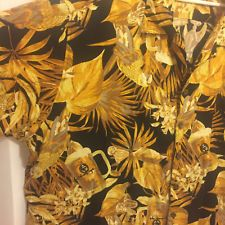 Mens Panama Jack Hawaiian Aloha Shirt Size 3XL Gold Parrots Beer Cocktails  in Clothing, Shoes & Accessories, Men's Clothing, Casual Shirts | eBay