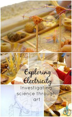 Exploring Electricity: Investigating science through art