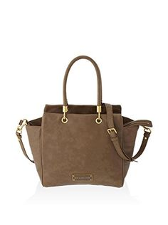www.myhabit.com  Sophisticated and spacious tumbled leather style with logo plaque and gold-tone hardware details, removable shoulder strap, 1 zip and 2 slip interior pockets
