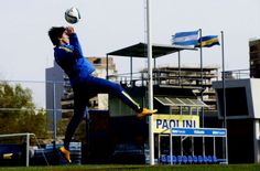 Pablo Perez: Boca Juniors Squad Trainning 25/08/15