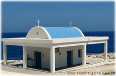 Cyprus Weddings - This church is right by Ayia Thekla beach in Ayia Napa