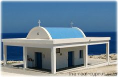 Cyprus Weddings - This church is right by Ayia Thekla beach in Ayia Napa