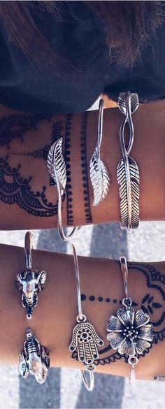 Boho Bracelets... - Bohemian, Boho Chic And Hippie Fashion