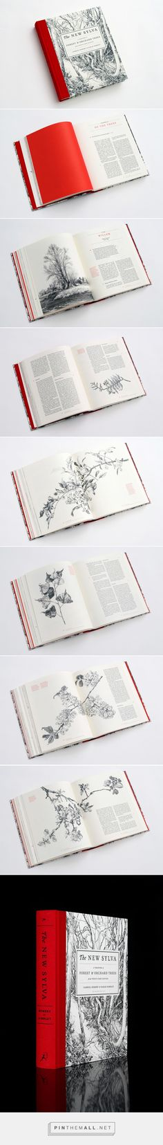 Book Design Inspiration: The New Sylva - Celebrating the UK's Forests and Trees - created via https://pinthemall.net