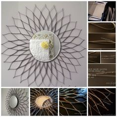 Sunburst Mirror | 31 Things You Can Make Out Of Cereal Boxes