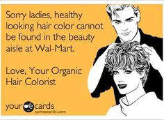 Lol! I can honestly say I've never bought crappy hair color. Not something you want to save money on