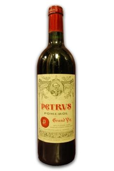 Chateau Petrus Pomerol - oh how I love the!!!!! ❤my all time favorite
