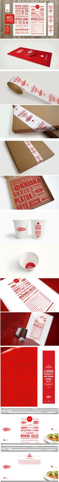 That's fun and different, however not the most economical maybe Pizza Branding, Pizza Logo, Restaurant Identity, Food Graphic Design, Food Design, Creative Design, Corporate Branding, Corporate Design, Brand Identity Design
