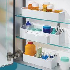 "InterDesign Med+ Bathroom Organization 9"" Organizer"